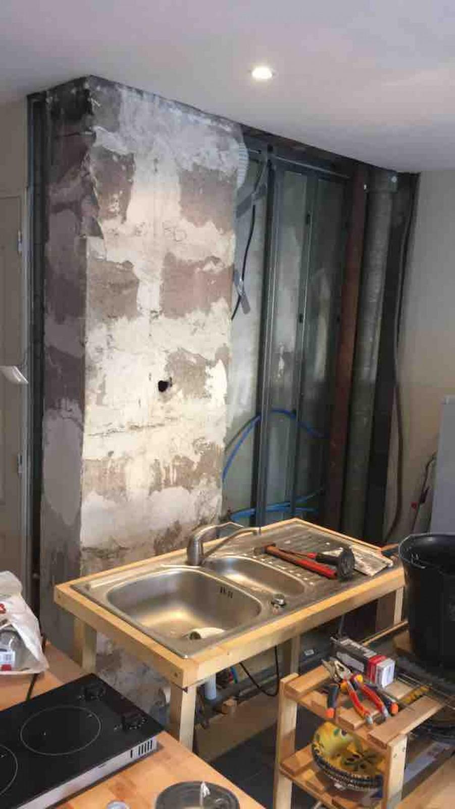 Entreprise Renovation Salle De Bain Bordeaux création d'une cuisine et rénovation d'une salle de bain - e.g.u